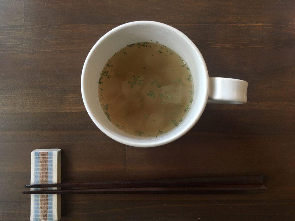 オアシス食堂のスープ