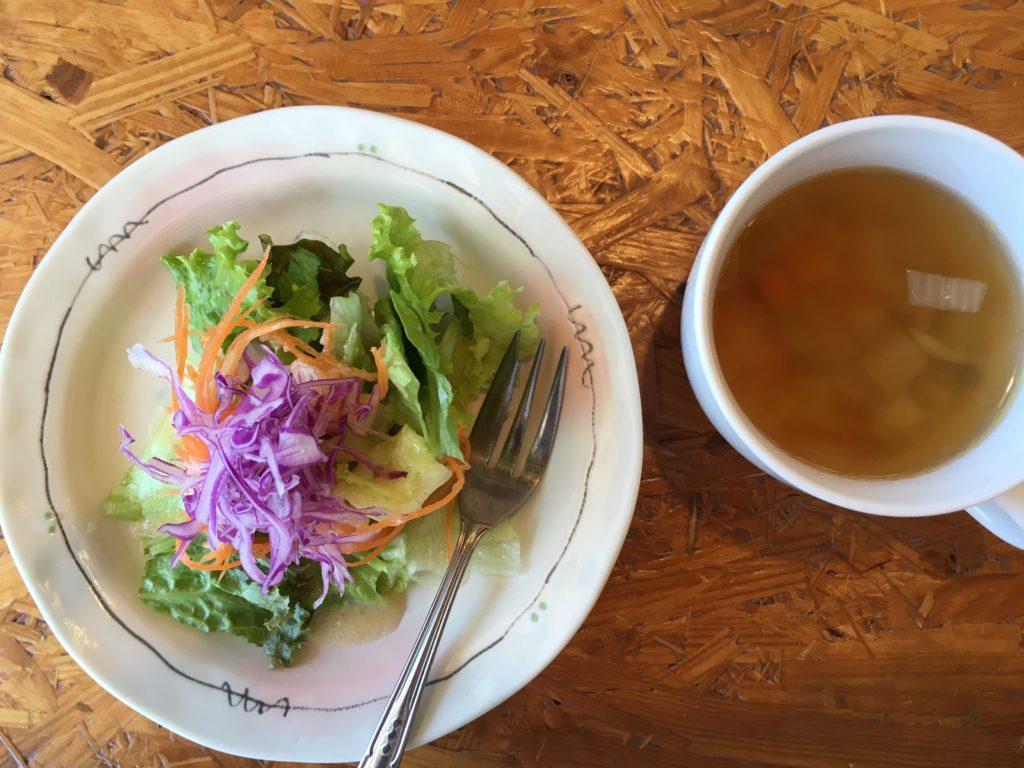 シェフの台所のサラダ・スープ