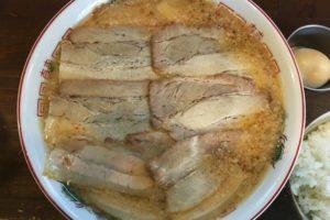 和楽の肉中華そば(大)